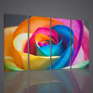 Quadri moderni color rose quadro moderno xxl arredamento for Ebay arredamento casa