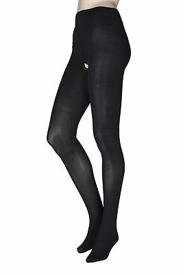 Ladies 1 Pair Miss Naughty 100 Denier Crotchless Tights Up to XXXL