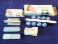 Vtg Flashbulb Lot Sylvania Blue Dot Press 25b Flashcube Ge Flip Flash Bulb A28
