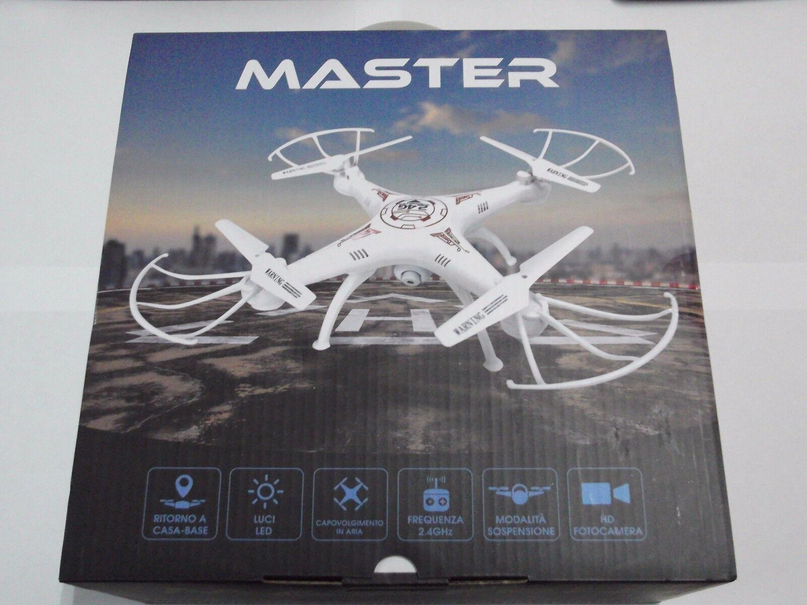 MASTER DRONE TELECOuomoDATO  CON MODALITA' SOSPENSIONE E CONTROLLO DA SMARTPHONE  prezzi equi