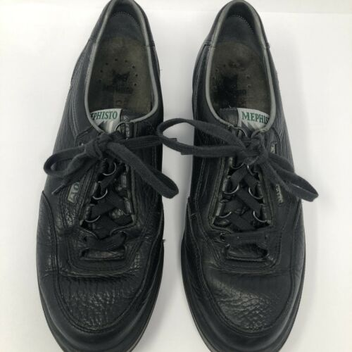 Mephisto Womens Size  9 .5 Black Leather Oxfords