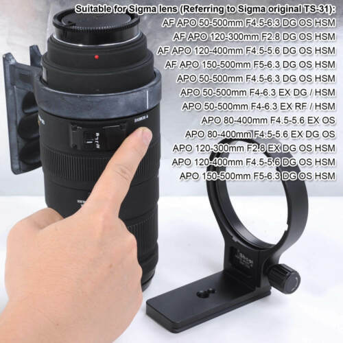 Metall Objektiv Stativschelle für Sigma TS-31 AF APO 150-500mm F5-6.3 DG OS HSM
