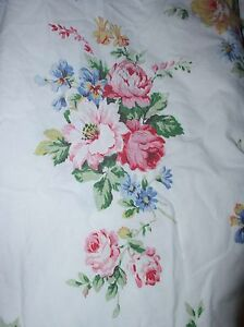 Ralph Lauren Claire Floral KING Fitted Sheet Vintage #1 Faded Very Rare