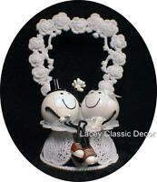 Adorable Volleyball Volley Ball Beach Outdoor Sports Funny Wedding Cake Topper