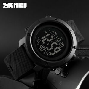 SKMEI-Watch-Mens-Womens-Watches-Waterproof-Sport-Outdoor-LED-Digital-Wristwatch