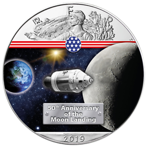 USA-1-Dollar-2019-Silver-Eagle-On-the-Way-to-the-Moon-5-1-Oz-Silber-ST