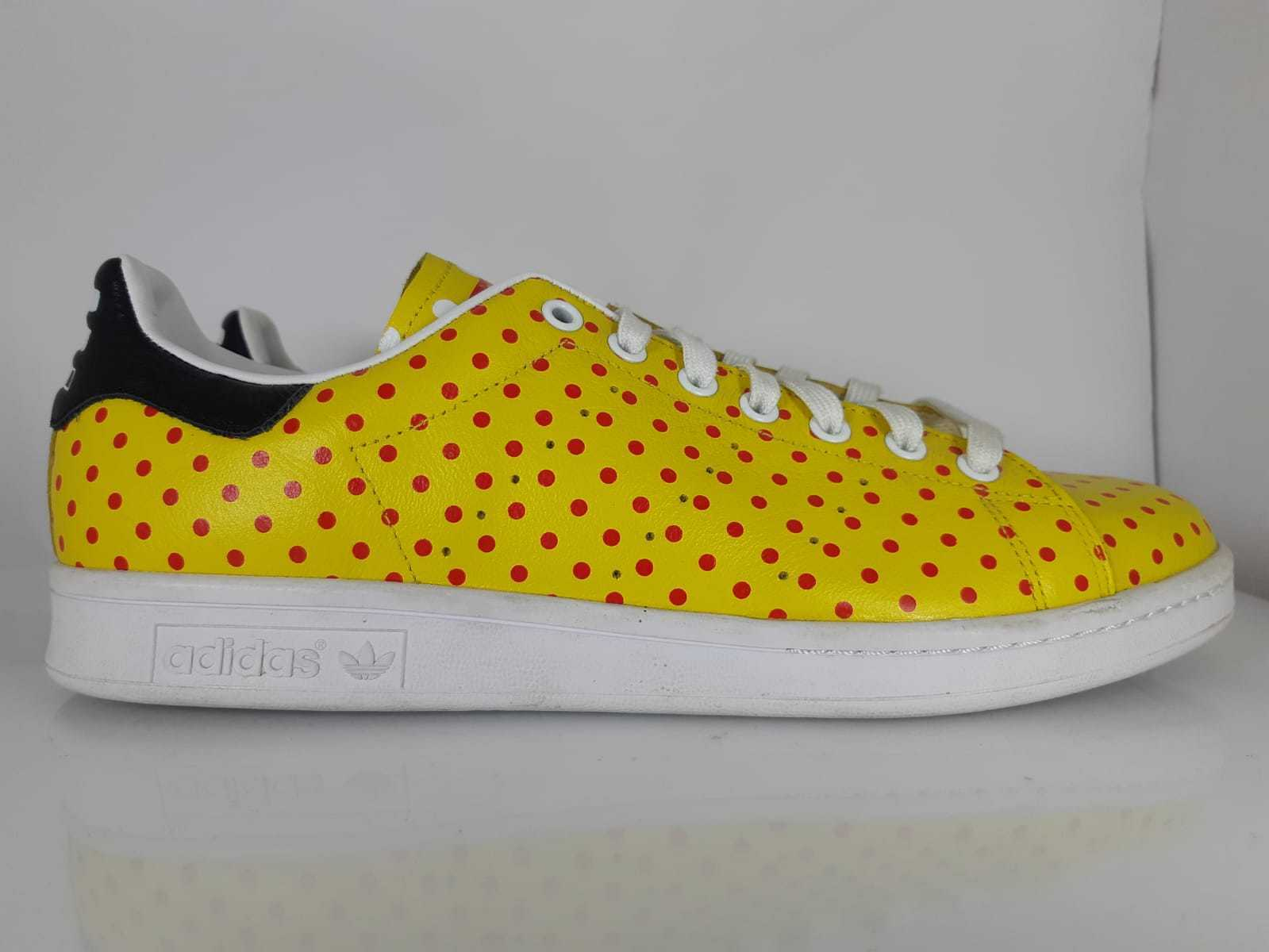 shoes N. 44 2 3 ADIDAS STAN SMITH SPD  PHARRELL WILLIAMS blue red ART.B25402