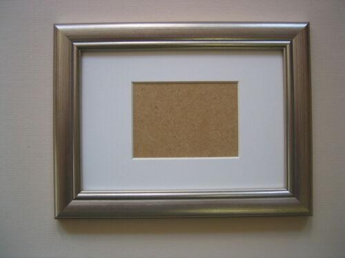 Silver en bois aceo école photo 3.5 x2.5 Pouce Cadre Photo Avec Mont Blanc
