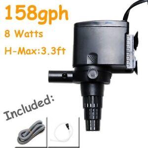 New-158GPH-Aquarium-Water-Pump-Reef-3-3-Max-Head-Powerhead-Undergravel-Filters