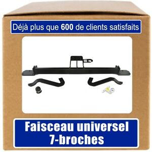 Peugeot-Boxer-Furgon-Minibus-de-14-Attelage-fixe-faisceau-7-broches-uni
