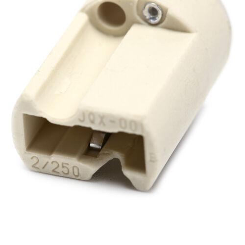 5 teile los G9 lampenfassung konverter steckdose umbau glühbirnenbasis ty  /&