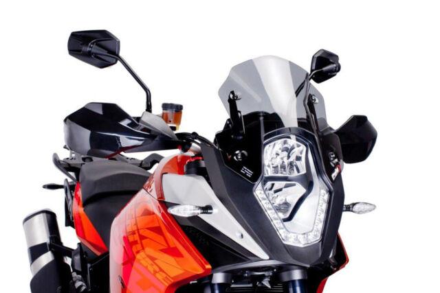 PUIG RACING SCREEN KTM 1090 ADVENTURE 17-18 LIGHT SMOKE