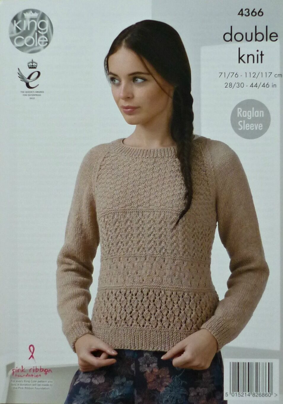 2a6a48b9cc9452 Knitting Pattern 4366 Ladies Cardigan   Sweater in King Cole Baby ...