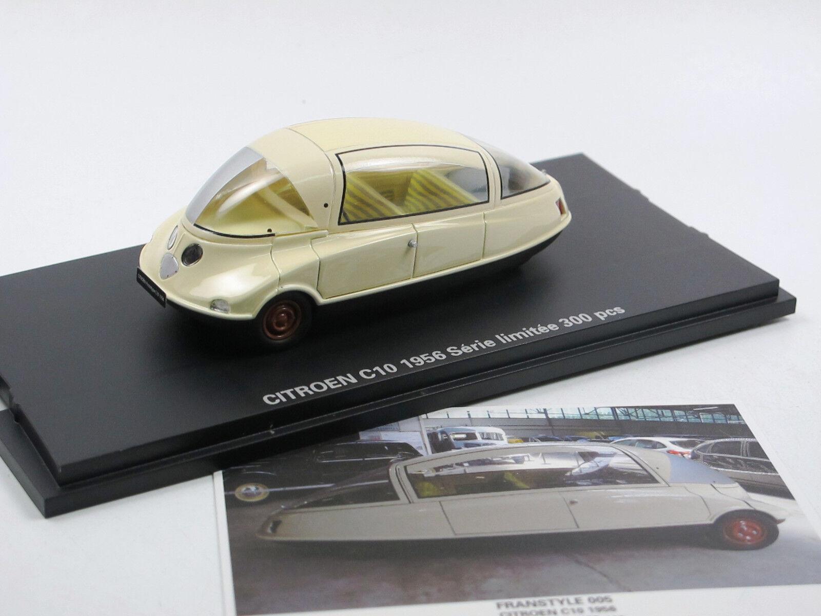 Franstyle 005 von generaldirektoren - citroen (1956 1 43 coccinelle concept car