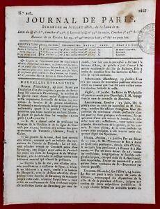 Vonges en 1808 Côte d'Or Le Louvre Paris Religion en Hollande Café Moka Empire
