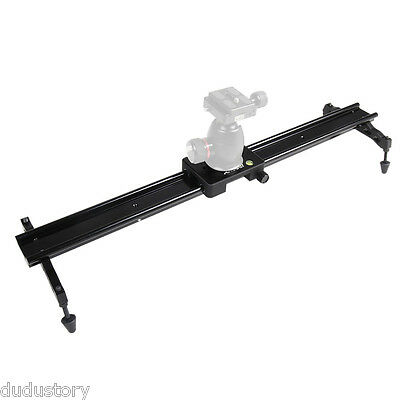 """60cm/24"""" Sliding-pad Video Track Slider Stabilizer System fr Canon Nikon DSLR DU"""