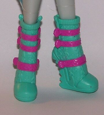 Monster High Shoes Lagoona Blue Ghouls Night Out Shoes fit Ever After High Dolls