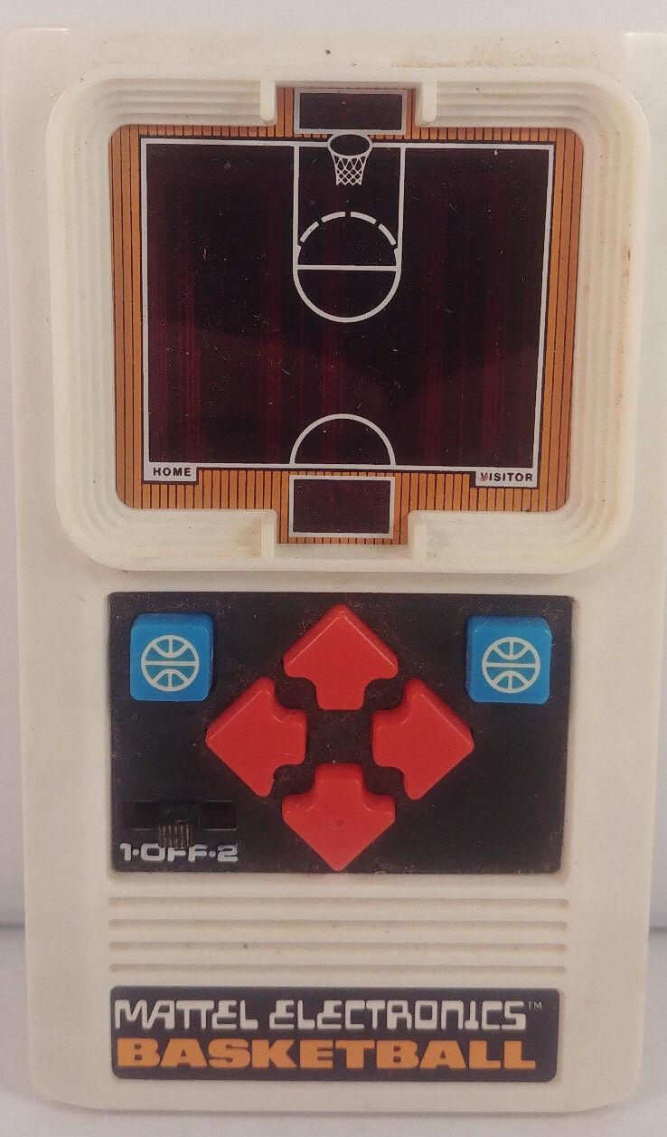Vintage Mattel Electronics BASKETBALL-1978-1st Generation-Works great