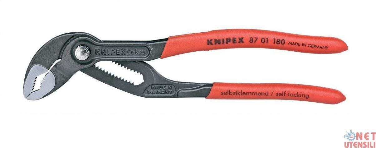 KNIPEX B2315 1 PINZA PINZE REGOLABILI CON PULSANTE PER TUBI E DADI MOD. COBRA