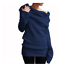 Women-039-s-Off-Shoulder-Cowl-Neck-Sweater-Jumper-Long-Sleeve-Casual-Pullover-Tops thumbnail 11