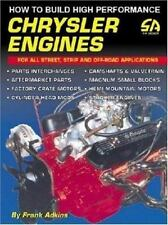 How to Build High Performance Chrysler Engines S-A Design. Mopar By Frank Adkins
