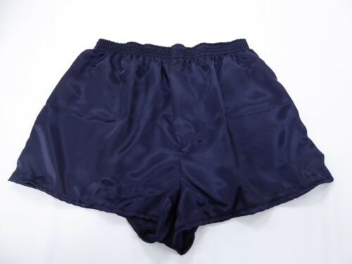 Navy Blue  Satin Boxers in Large