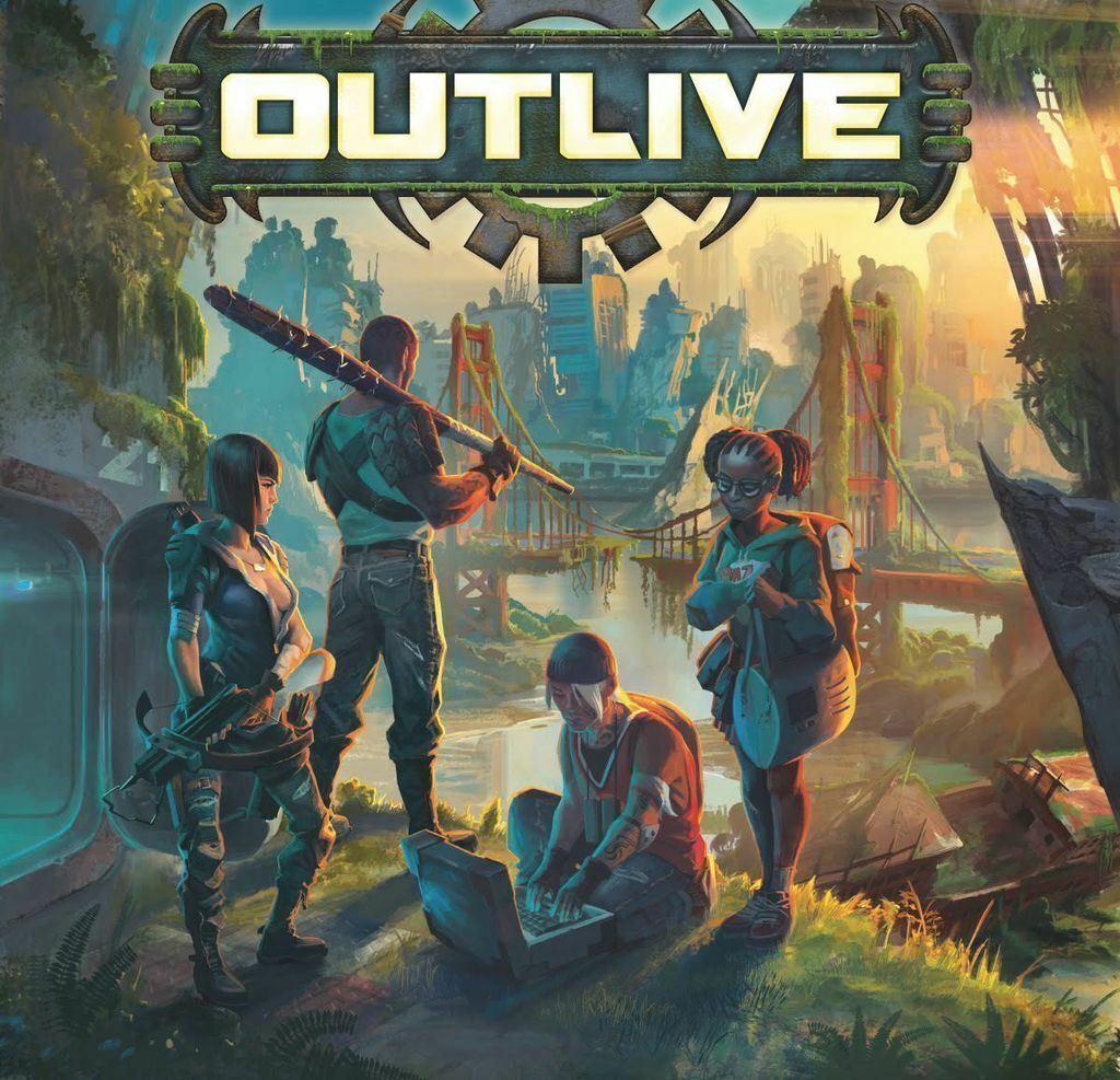 risparmia il 50% -75% di sconto Nuovo Outlive survival survival survival tavola gioco FACTORY SEALED  prodotto di qualità