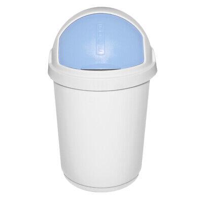 Mülleimer Eimer Abfall Curver Roll Top 25 Liter blau oder rosa   eBay