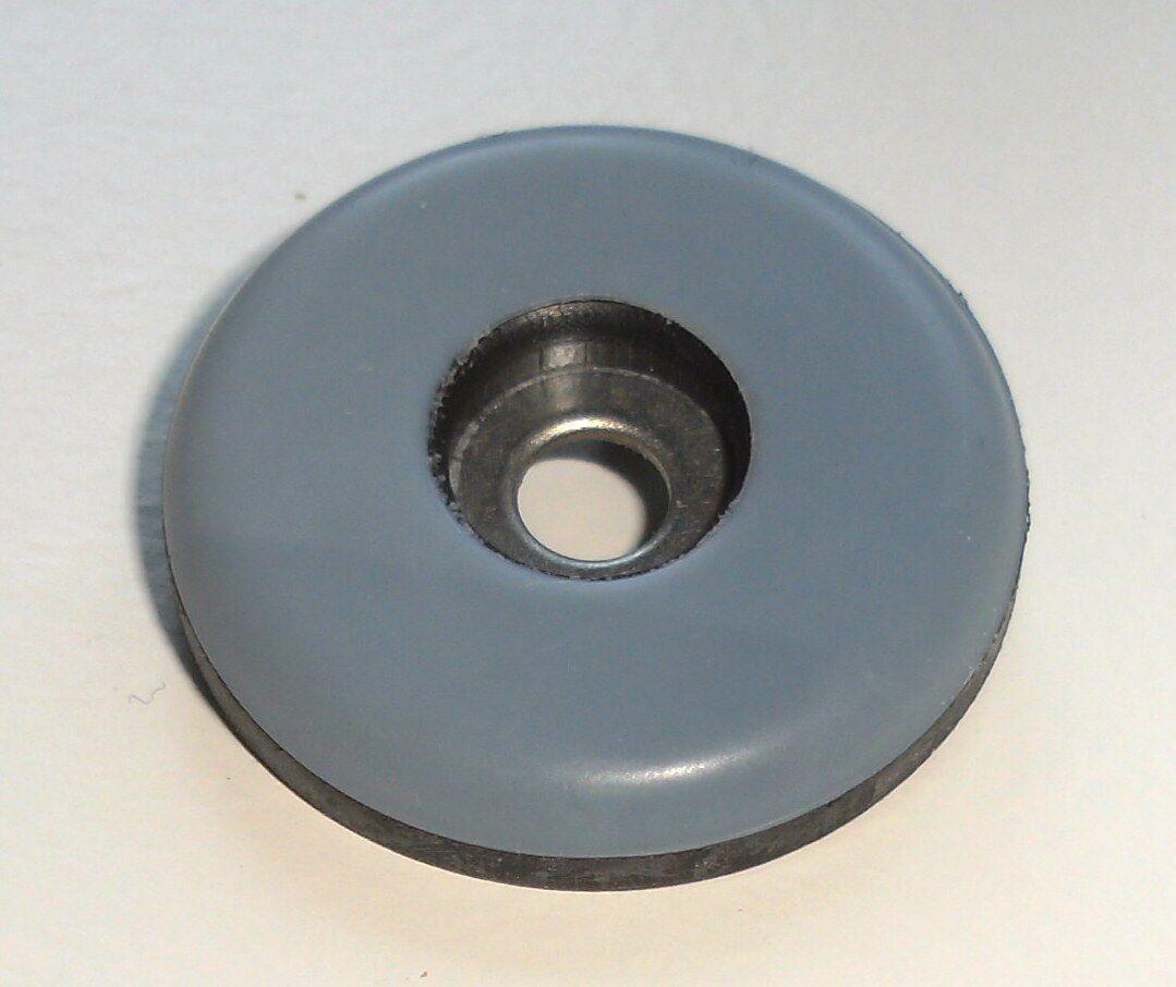 48 Teflon Möbelgleiter Stuhlgleiter rund Ø 38  mm zum schrauben PTFE Laflon