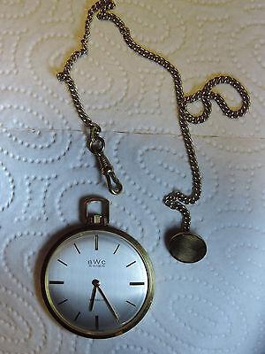 Offen Bwc Swiss Incabloc Taschenuhr Uhr 20 Mikron Vergoldet Handaufzug 535310 Kette Zu Den Ersten äHnlichen Produkten ZäHlen