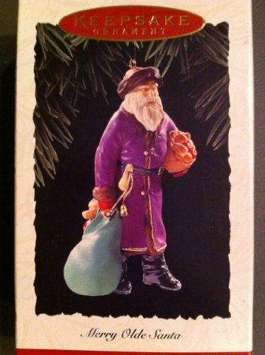 Hallmark Keepsake Ornament Merry Olde Santa Collector/'s Series