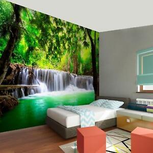 Details Zu Fototapete Wasserfall 352x250 Cm Vlies Tapete Wand Deko Wandbild 9006011a