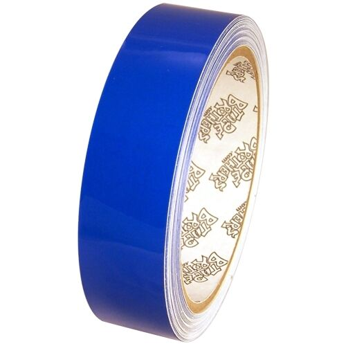 Tape Planet 3 mil 1 inch x 10 yards Medium Blue Outdoor Vinyl Tape
