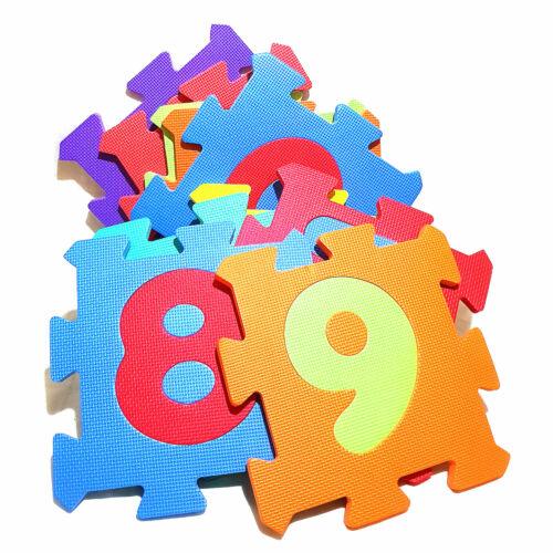 Kinder Puzzlematte Kinderteppch Spielteppich Puzzle Matte extra dick 32x32x1,5cm Lernspielzeug