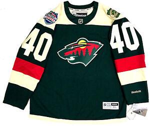 new arrival 12555 417f1 Details about DEVAN DUBNYK MINNESOTA WILD 2016 STADIUM SERIES REEBOK NHL  PREMIER JERSEY