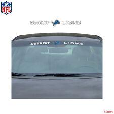 Brand New NFL Detroit Lions Car Truck SUV Windshield Window Decal Sticker