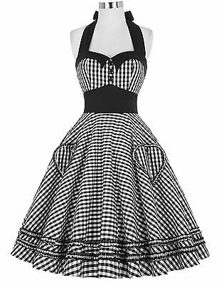 2016 Vintage Retro Swing 50s Housewife Party Pinup EVENING Prom Dress