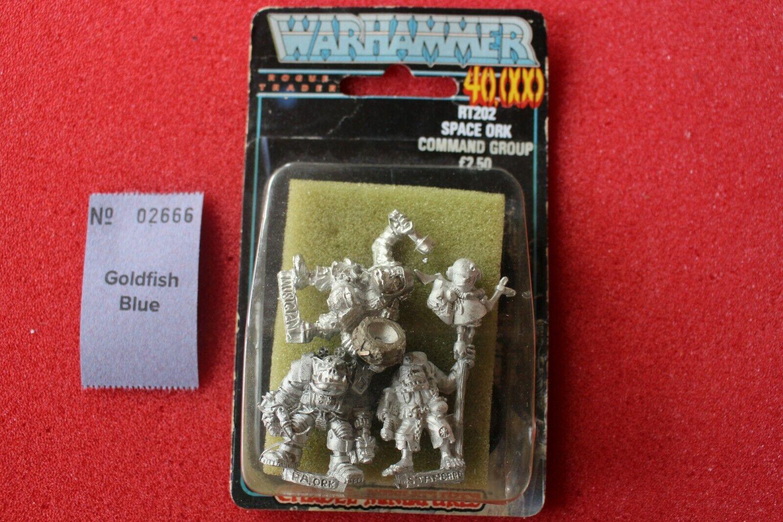 Juegos taller Warhammer 40k RT202 Space Ork orcos Rogue Trader nuevo comando Nuevo Y En Caja