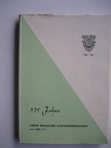 375 Jahre Verein Bramscher Schützengesellschaft 1586-1961/ Festschrift,-programm Aufnäher & Anhänger Schützensport