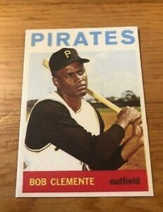 1964-Topps-Reprint-440-Roberto-Bob-Clemente-Pittsburgh-Pirates-Card-MINT-RP