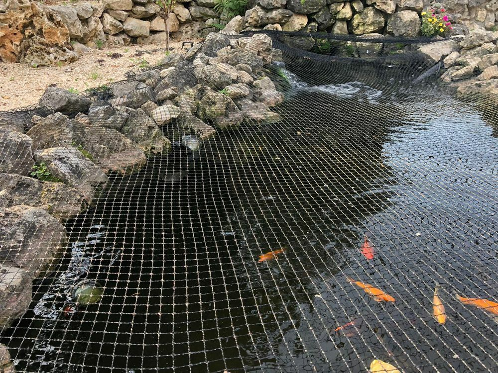 Pond Cover Net 4x4, 2m Pond NETTING POND PROTECTION Herons Leaf Protection Cover Net
