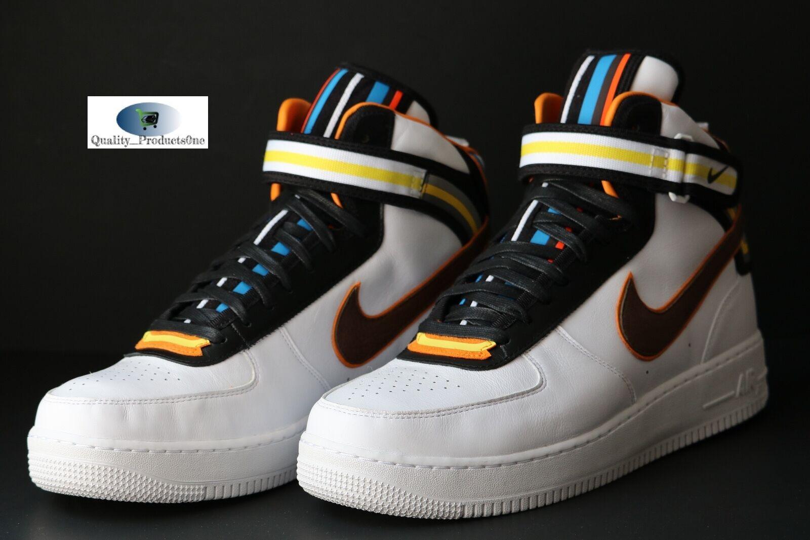 Nike Air Force 1 MID SP Tisci Riccardo RT White Baroque Brown 677130 120 Sz 13