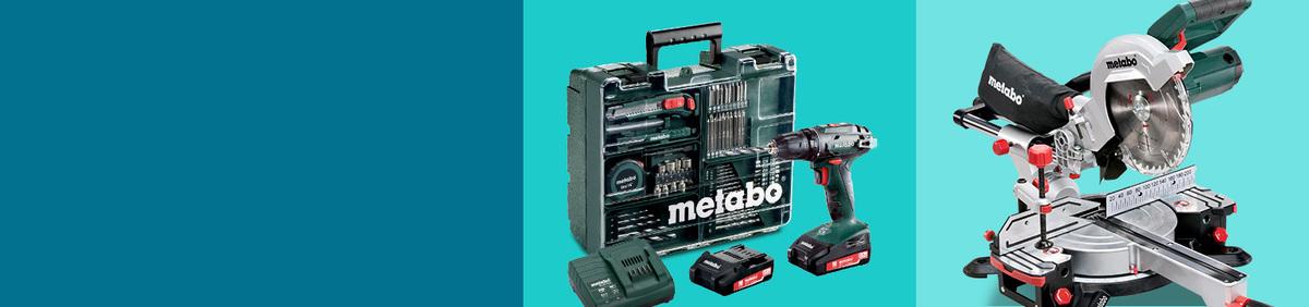 Aktion ansehen Profi-Werkzeug von Metabo bis zu -30%* Jetzt bei Bohrmaschinen, Sägen & Co. sparen
