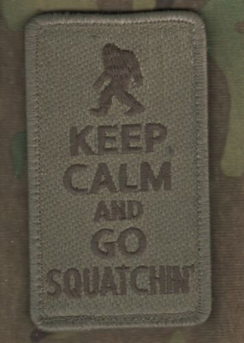 Burdock backing Carry Guns DAESH WHACKER GREEN BERETS SP OPS KEEP CALM SERIES