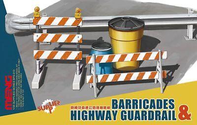 ◆ Meng 1/35 SPS-013 Barricades & Highway Guardrail set SPS013