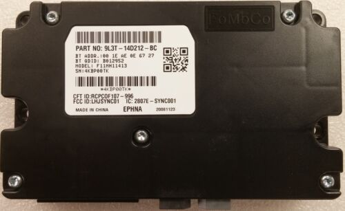 SYNC APIM Bluetooth computer module for some 2009 Ford vehicles Never installed