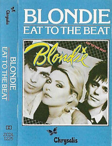 Blondie Eat To The Beat CASSETTE ALBUM Rock New Wave ...
