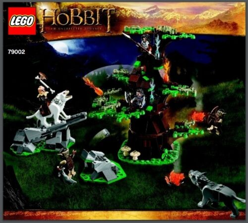 LEGO INSTRUCTION BOOKS ONLY Hobbit Lord of the Rings LOTR  BRAND NEW Manuals