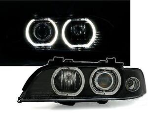 5er-BMW-E39-Angel-Eyes-Scheinwerfer-Set-von-DEPO-weisse-LEDs-XENON-D2S-VFL