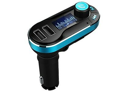 IQ Sound IQ-211BT Bluetooth Wireless FM Transmitter +2.1A Dual USB Car Charger